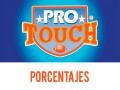 Porcentajes ProTouch del concurso 766 – Partidos del Domingo 29 al Lunes 30 de Noviembre del 2020